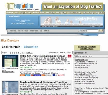 blog explosion