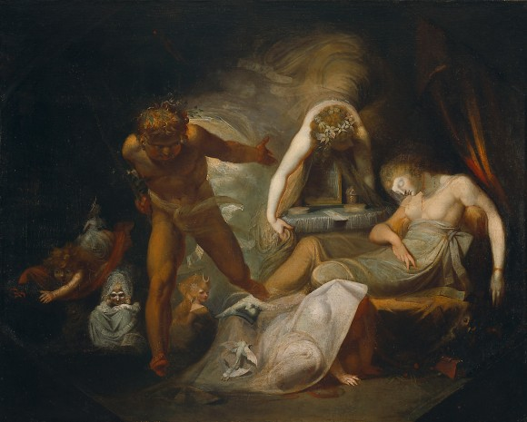 "Henry Fuseli ""Dream of Belinda"""